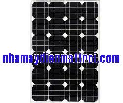 Tấm Pin năng lượng mặt trời mono 55W