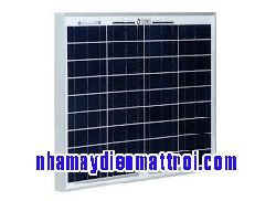 Tấm Pin năng lượng mặt trời Poly 60W